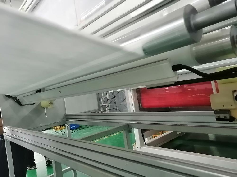 奥电胜熔喷布滤材生产的静电发放